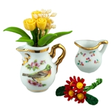 3-Pc. Flower Pitcher Set by Reutter Porzellan