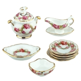 8-Pc. English Rose Dinner Set from Reutter Porzellan