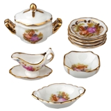 Baroque Serving Set by Reutter Porzellan