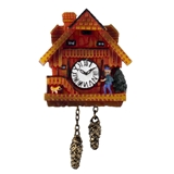 Large Black Forest Cuckoo Clock by Reutter Porzellan