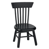 BLACK KITCHEN CHAIR