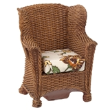 """Wicker"" Garden Chair by Reutter Porzellan"