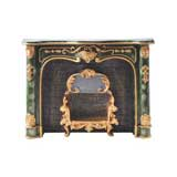 Florentine Faux Marble Fireplace Mantle by Reutter Porzellan