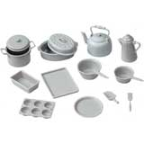 15 Piece Grey Cookware Set