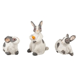 3-Pc. Bunny Family