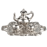 4-Pc. Silver Tea Service Set