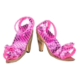 Pair of Pink Sparkle Stilettos