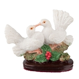 Kissing Doves Figurine