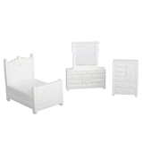 1/48 Scale 3-Pc. Vintage Bedroom Set