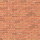 1/24 Scale Light Red Brick Sheet