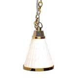 Cone-Shaped Hanging Lamp