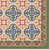 Spanish Mosaic Tile Sheet