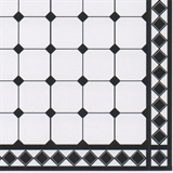 Black Rhombus Tile Sheet