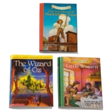 The Adventures of Huckleberry Finn, The Wizard of Oz and Little Women Book Set