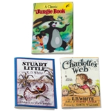 Jungle Book, Stuart Little and Charlotte's Web Book Set