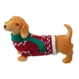 Christmas Dachshound