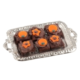 Halloween Brownie Platter