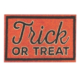 """Trick or Treat"" Mat"