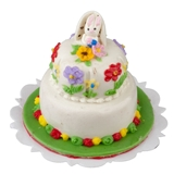 Two Tier Easter Bunny Cake