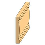 "Door & Window Casing 1/4"" x 24"""