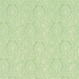 Green Birch Damask Wallpaper