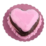 Pink Heart Cake