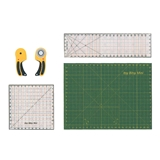 Cutting Mat, Quilting Rulers and Rotary Cutter Kit