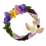 Spring Takes Flight Wreath