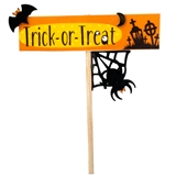 """Trick-or-Treat"" Yard Sign"