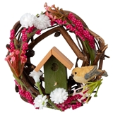 Large Summer Garden Wreath