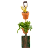 Rustic Shovel Plant Stand