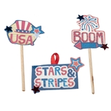 3-Pc. Fourth of July Sign Set