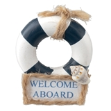 """Welcome Aboard"" Sign"