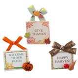 3-Pc. Fall Sign Set