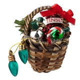 Christmas Decorating Basket