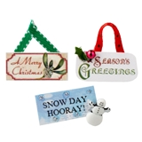 3-Pc Holiday Sign Set