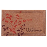"Leafy Branches ""Welcome"" Mat"