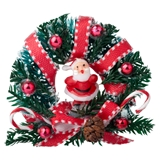 Jolly St. Nick Wreath