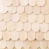Octagon Birch-Veneer Shingles