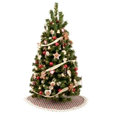 Country Christmas Tree With Skirt
