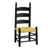 Black Shaker Side Chair