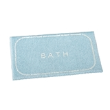 "Blue ""Bath"" Mat"