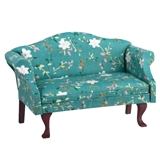 Green Simmons Settee