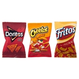 Doritos, Cheetos and Fritos