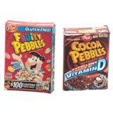 Fruity Pebbles and Cocoa Puffs Cereal