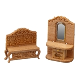 1/144 Scale Victorian Hall Furniture Kit