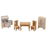 1/144 Scale Victorian Kitchen Furniture Kit