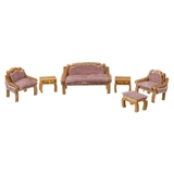1/144 Scale Traditional Living Room Furniture Kit