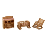 1/144 Scale Traditional Nursery Furniture Kit