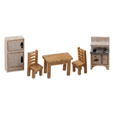 1/144 Scale Traditional Kitchen Furniture Kit